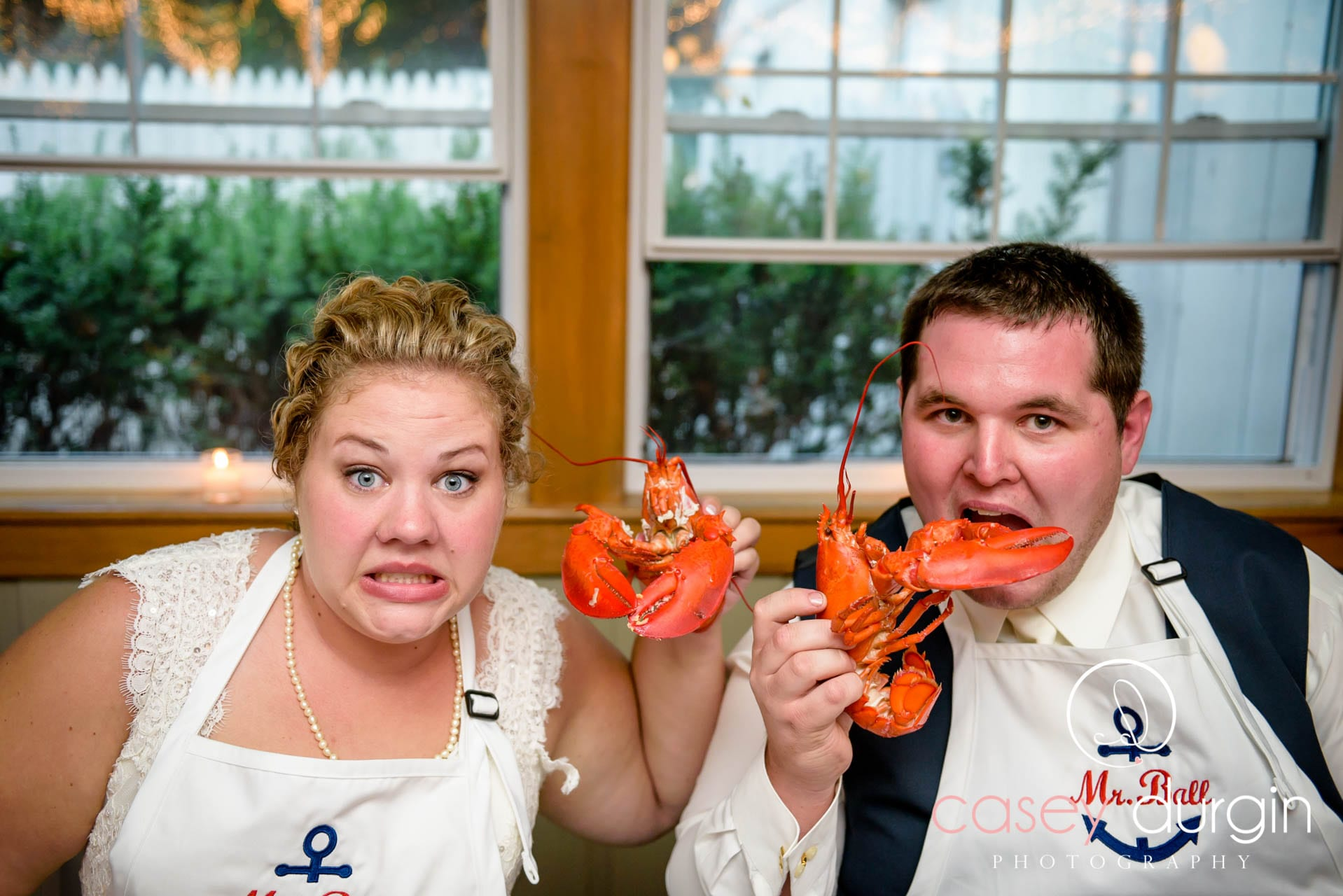 Foster's Downeast Clambake Wedding